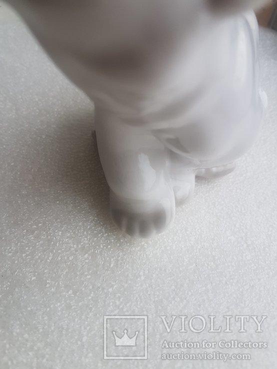 Статуэтка Белый Медведь ЛФЗ 1 сорт, фото №10