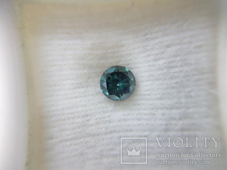 Природный фантазийный бриллиант 0,52 карат с сертификатом, фото №2