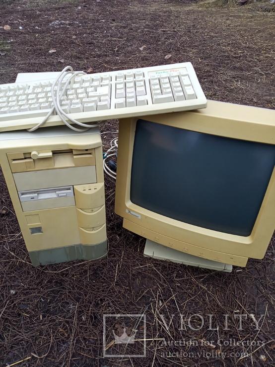 Компьютер старый в комплекте, фото №2