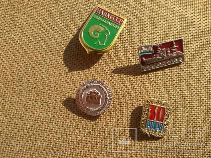 4шт. значки СССР, фото №2