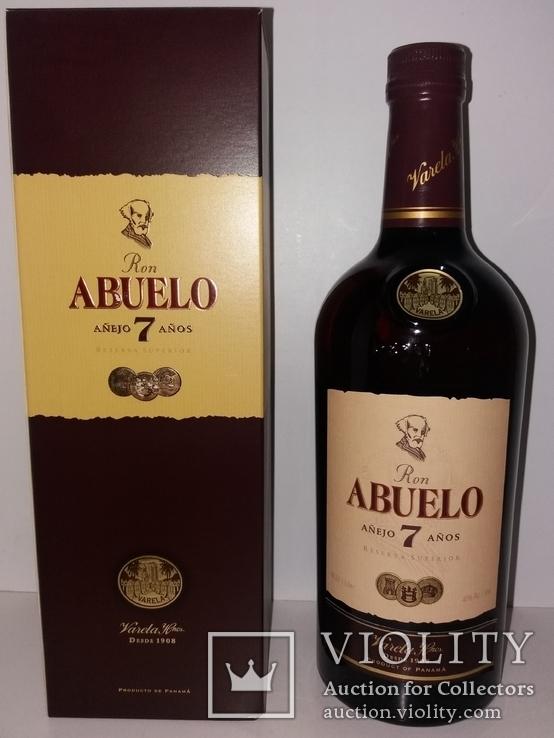 Ром Abuelo Reserva Superior Anejo 7 Anos, 1 литр, Панама, фото №2