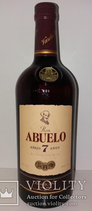Ром Abuelo Reserva Superior Anejo 7 Anos, 1 литр, Панама, фото №3