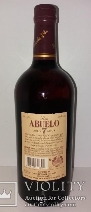 Ром Abuelo Reserva Superior Anejo 7 Anos, 1 литр, Панама, фото №5