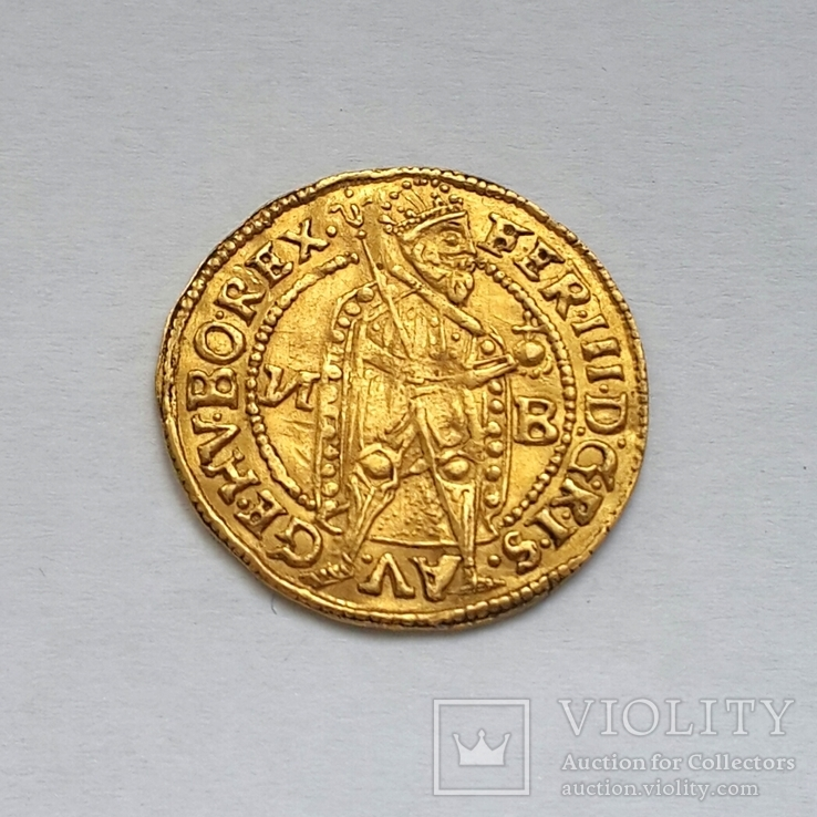 Dukat 1638 ''И B'', Nagybanya (Neustadt/Baia Mare), Ferdinand III,   R