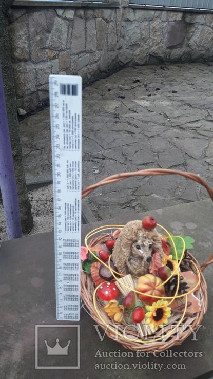 Композиція їжачок і осінь., фото №4