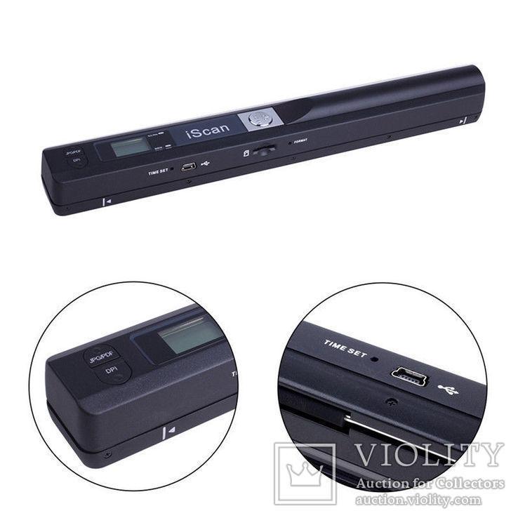 Портативный сканер IScan 900 dpi, фото №7