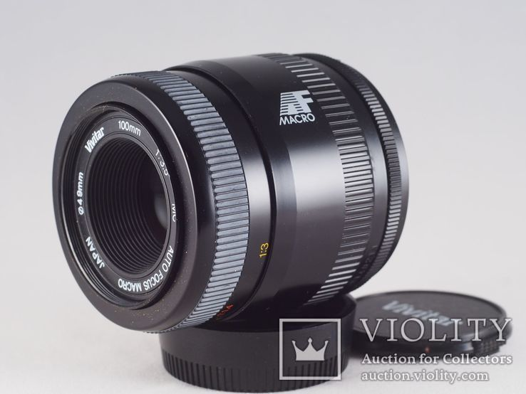 Vivitar 100mm f/3.5 MC AF Macro, фото №8