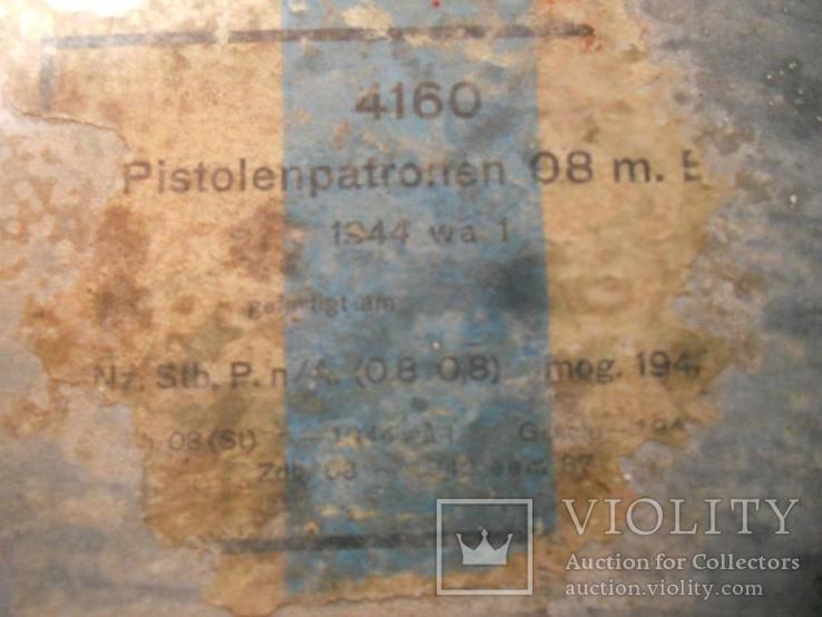 Икона 1944г. написана на циновке от немецких патронов...., фото №4