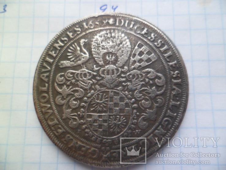 Талера 1659 год копия, фото №4