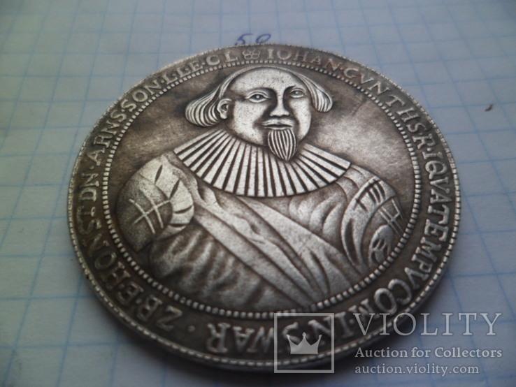 Талер 1577 год копия, фото №3
