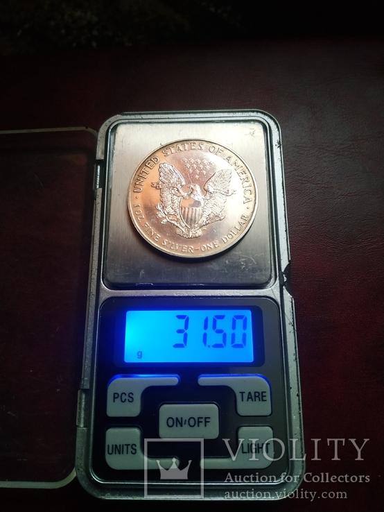 1 долар 1995р, фото №3