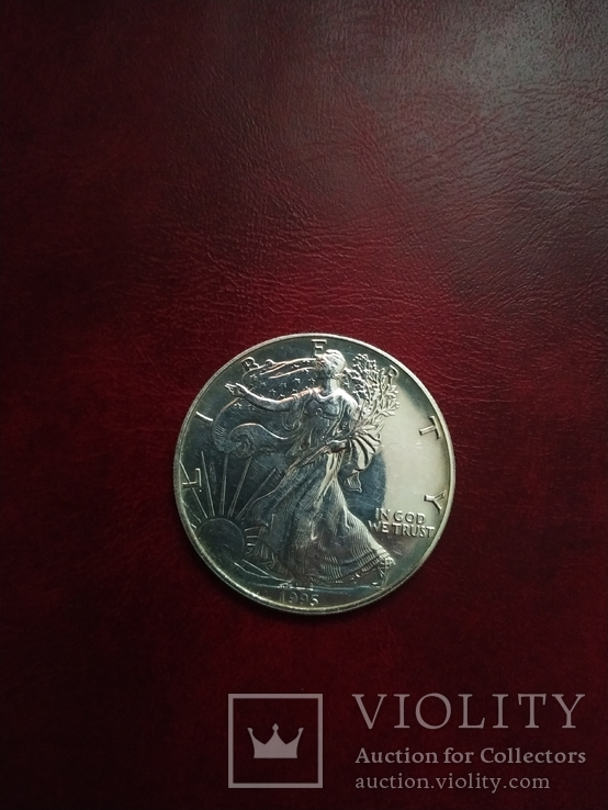 1 долар 1995р, фото №4