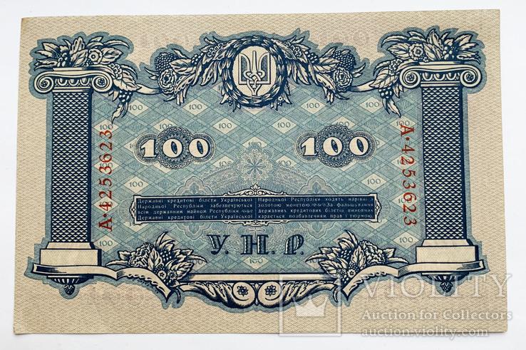100 гривен 1918 года. UNC., фото №3