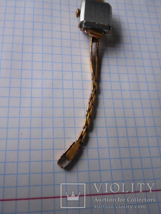 Часы Заря 40 лет КАЗ СССР Au с браслетом, фото №11