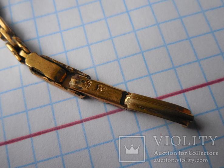 Часы Заря 40 лет КАЗ СССР Au с браслетом, фото №12