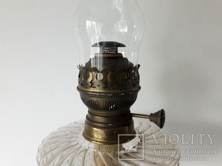 Антикварна керосинова лампа, фото №3
