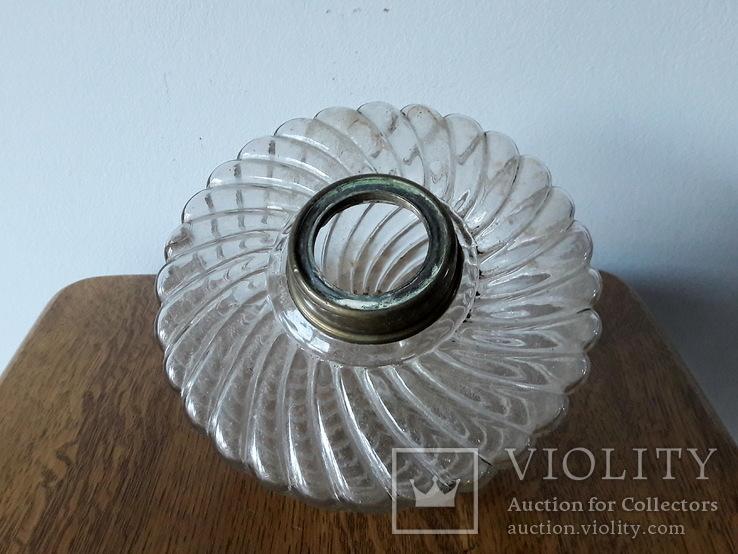 Антикварна керосинова лампа, фото №10