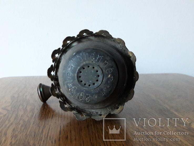 Антикварна керосинова лампа, фото №12