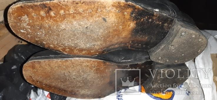 Сапоги хромовие 43, фото №2