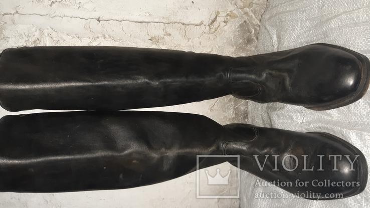Сапоги хромовие 43, фото №7