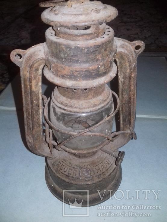 Керосиновая лампа Feuer Hand №175 Super Baby Германия, фото №2