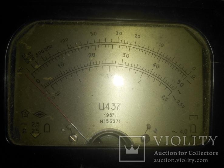 Прибор Ц 437  и радиодетали, фото №4
