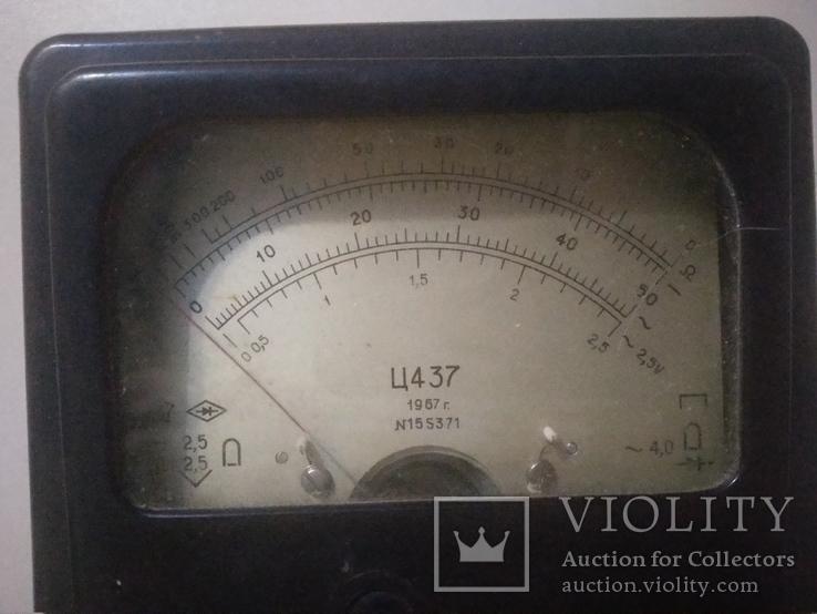 Прибор Ц 437  и радиодетали, фото №5
