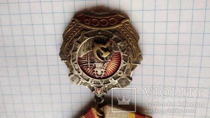 Копия Орден трудовой славы 1 степени, фото №4