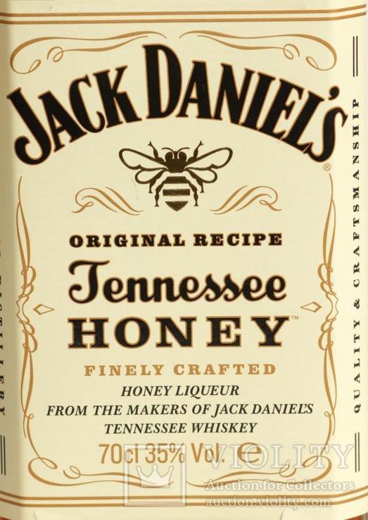Ликер Jack Daniels Honey 0.7L USA, фото №3