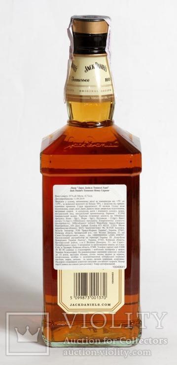Ликер Jack Daniels Honey 0.7L USA, фото №5