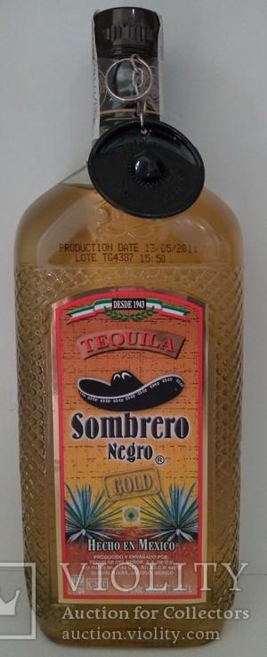 Текила Sombrero Negro Gold, 1 литр, Мексика, фото №2