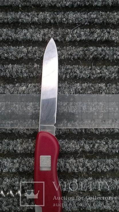Alpineer red.VICTORINOX.(Slip-joint фиксатор).Швейцарский армейский нож.Ніж., фото №8