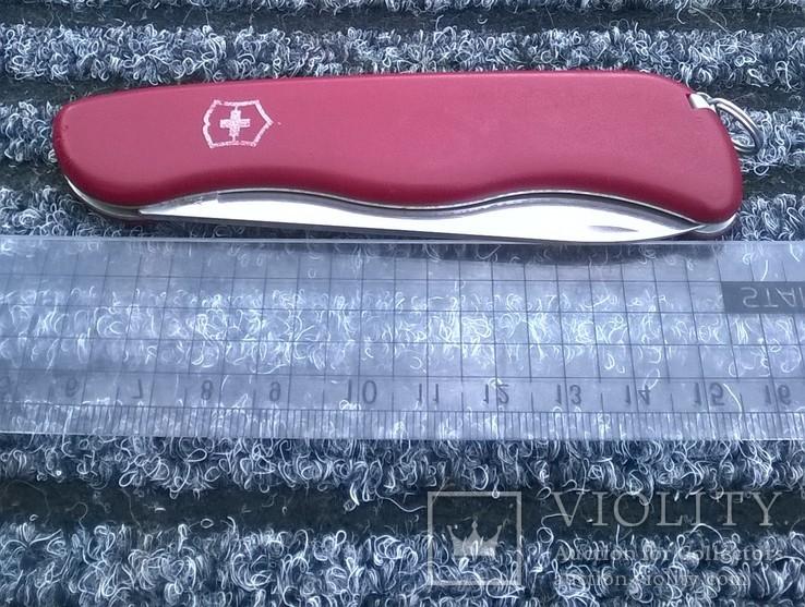 Alpineer red.VICTORINOX.(Slip-joint фиксатор).Швейцарский армейский нож.Ніж., фото №10