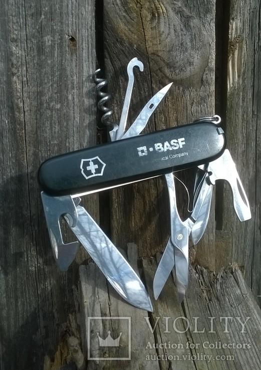 """Нож-""""ЕГЕРЬ""""-Huntsman  black.VICTORINOX.Швейцарский нож.Ніж., фото №3"""