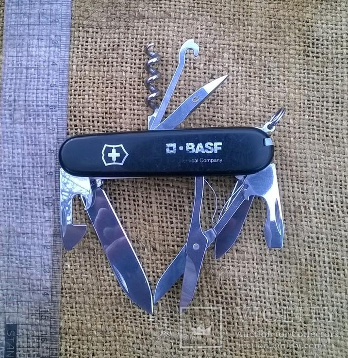 """Нож-""""ЕГЕРЬ""""-Huntsman  black.VICTORINOX.Швейцарский нож.Ніж., фото №4"""