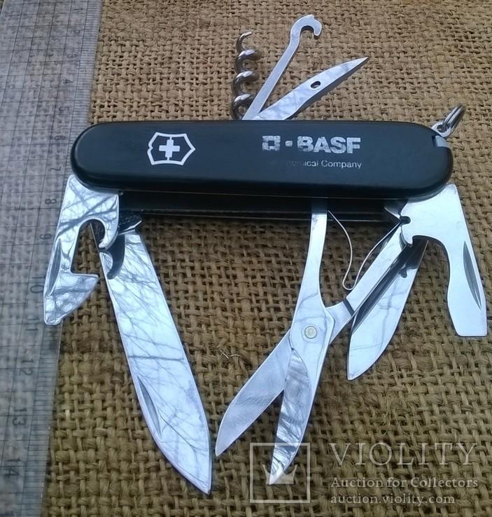 """Нож-""""ЕГЕРЬ""""-Huntsman  black.VICTORINOX.Швейцарский нож.Ніж., фото №5"""