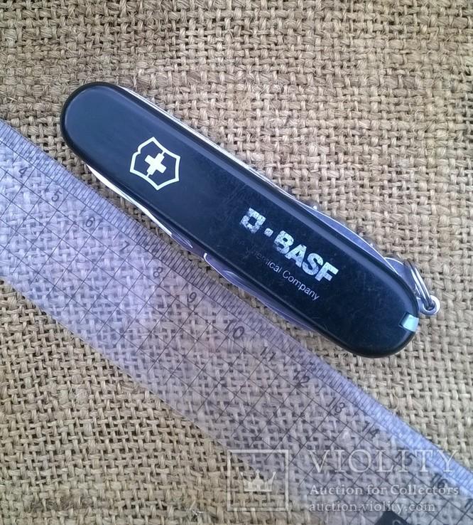 """Нож-""""ЕГЕРЬ""""-Huntsman  black.VICTORINOX.Швейцарский нож.Ніж., фото №11"""