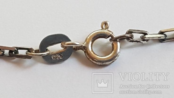 Крестик нательный с цепочкой. Серебро 925. Вес 10.7 г. Длина 60 см., фото №6