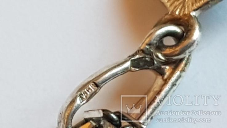 Крестик + цепочка 60 см, серебро 925. Вес 11.1 г., фото №6