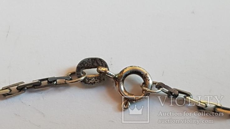 Крестик + цепочка 50 см, серебро 925. Вес 7.3 г., фото №7
