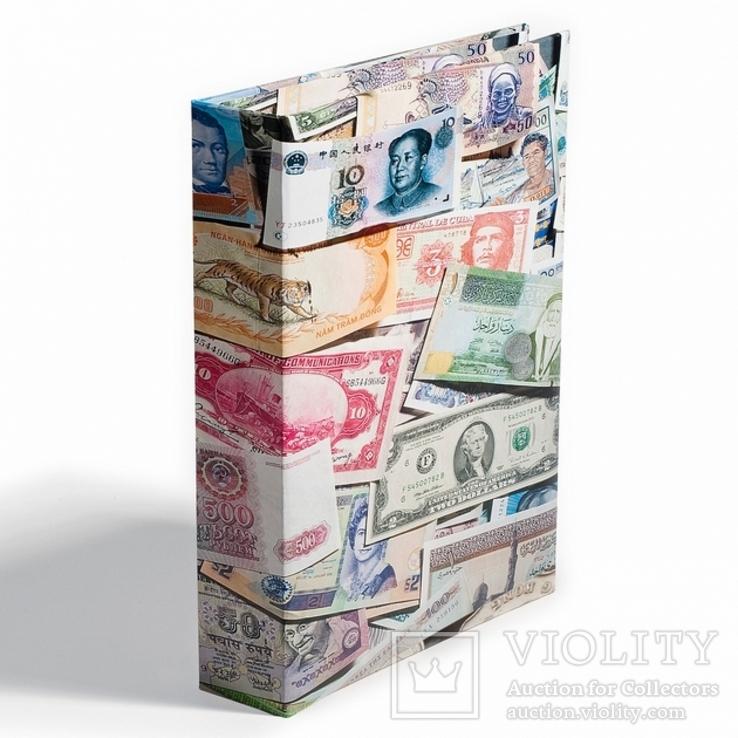 Альбом Grande Leuchtturm для размещения 300 банкнот с листами, фото №2
