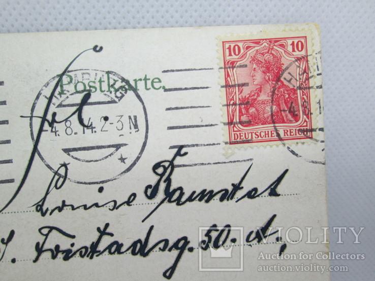 Старинная открытка  Люнебургская пустошь Германия, фото №5