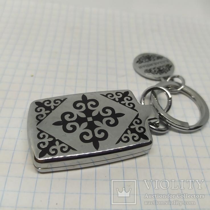 Брелок Казахстан. Медальон+открывающийся футляр на магнитах, фото №4