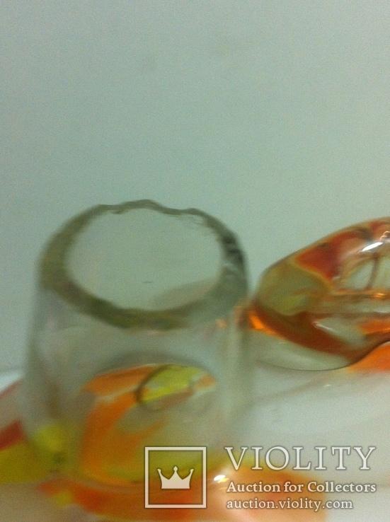 Фигурка Рыбка цветное стекло Бутылка, фото №8