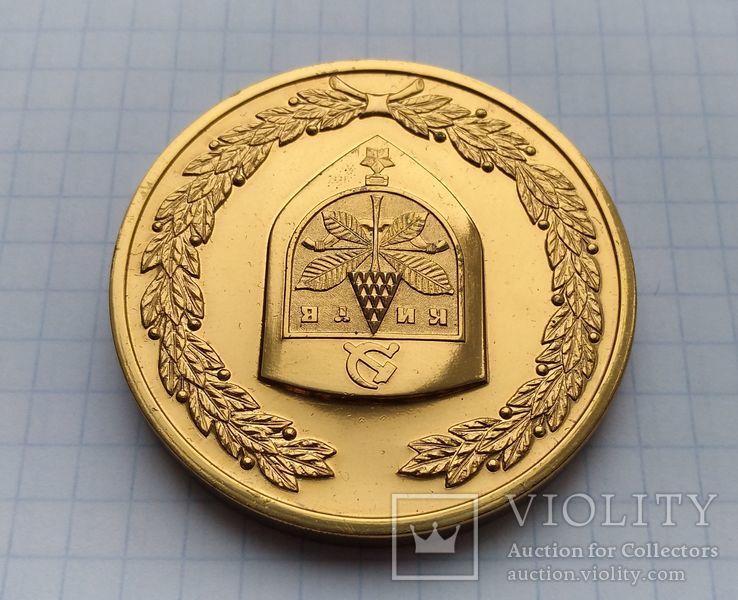 Сувенирная медаль с гербом Киева. Город - Герой., фото №5