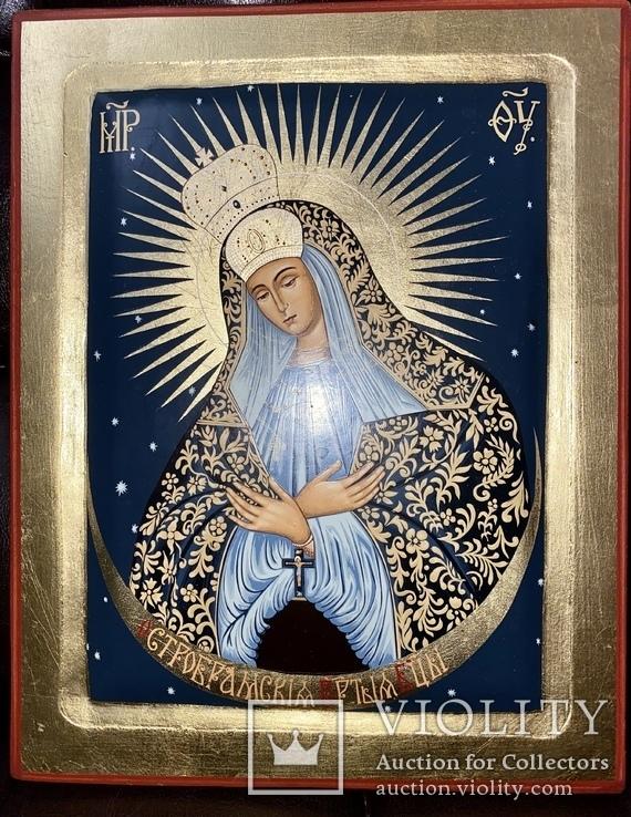Икона «Остробрамская Божья Матерь», фото №5
