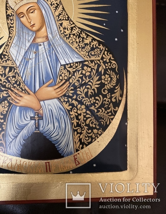 Икона «Остробрамская Божья Матерь», фото №9