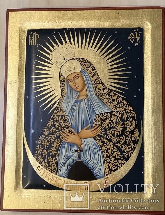 Икона «Остробрамская Божья Матерь», фото №12