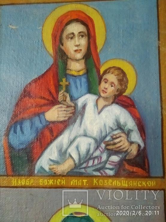 Красивая икона на холсте, фото №6
