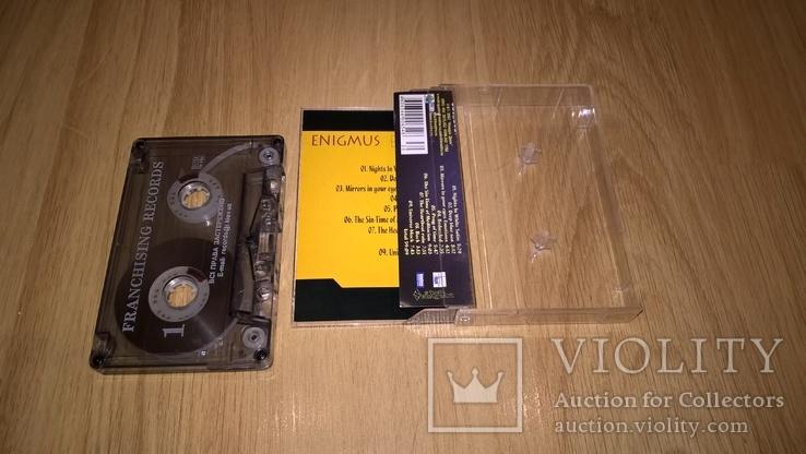 Enigmus (Bedazzled) 2002. (MC). Кассета. Franchising Records. Ukraine., фото №3